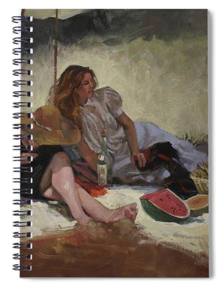 Summer Picnic Spiral Notebook