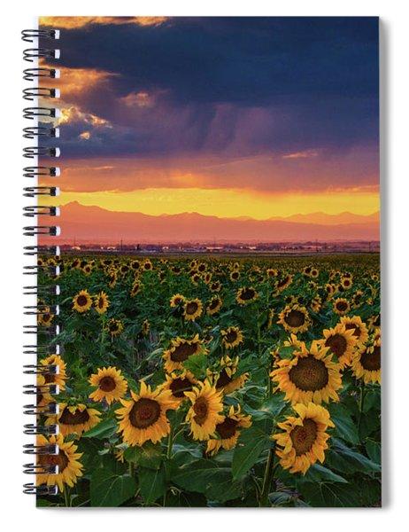 Summer Radiance Spiral Notebook