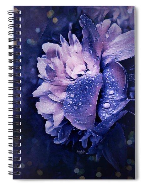 Summer Rain Spiral Notebook