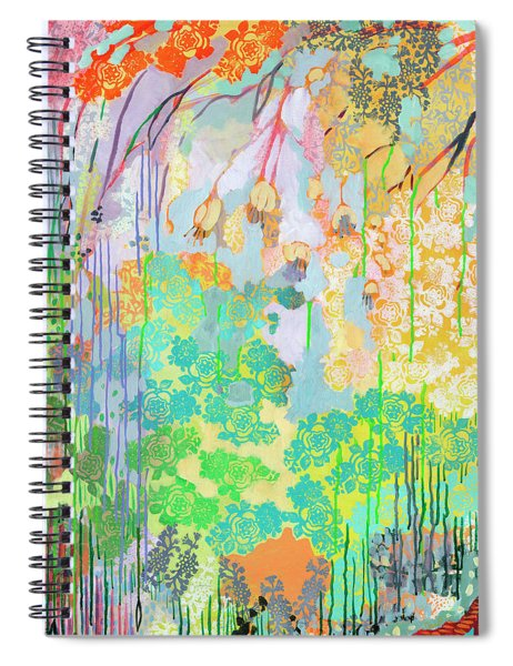 Summer Rain Part 2 Spiral Notebook