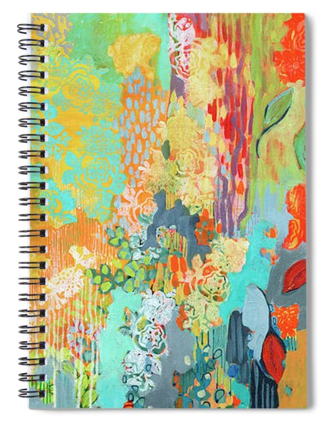 Summer Rain Part 3 Spiral Notebook
