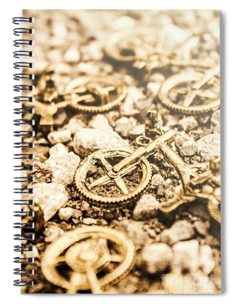 Summer Ride Spiral Notebook