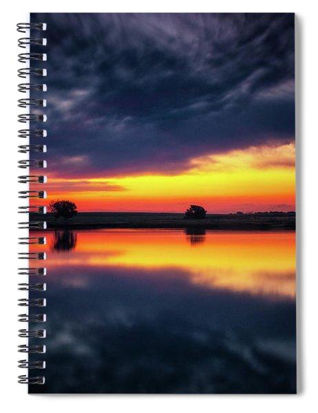 Summer Rises Spiral Notebook