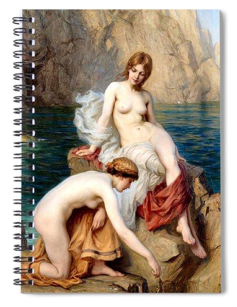 Summer Seas 1912 Spiral Notebook