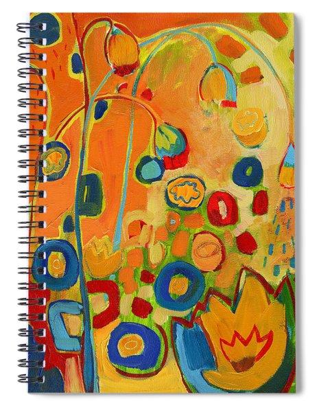 Summer Showers Spiral Notebook
