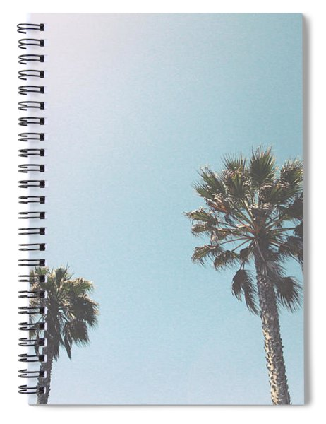 Summer Sky- By Linda Woods Spiral Notebook