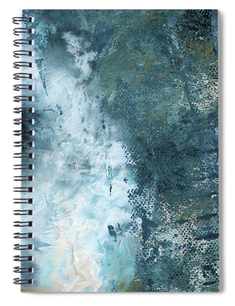 Summer Storm- Abstract Art By Linda Woods Spiral Notebook