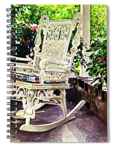 Summer Sun Porch Spiral Notebook