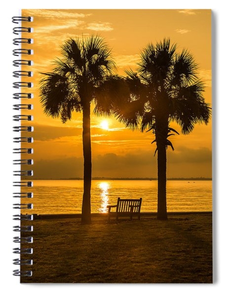 Summer Sunrise - Charleston Sc Spiral Notebook