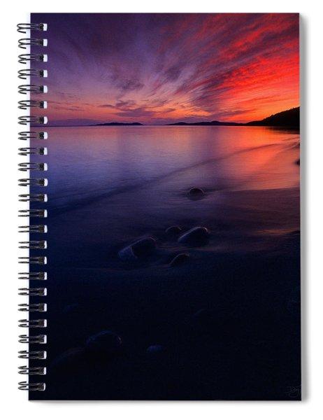 Summer Sunset       Spiral Notebook