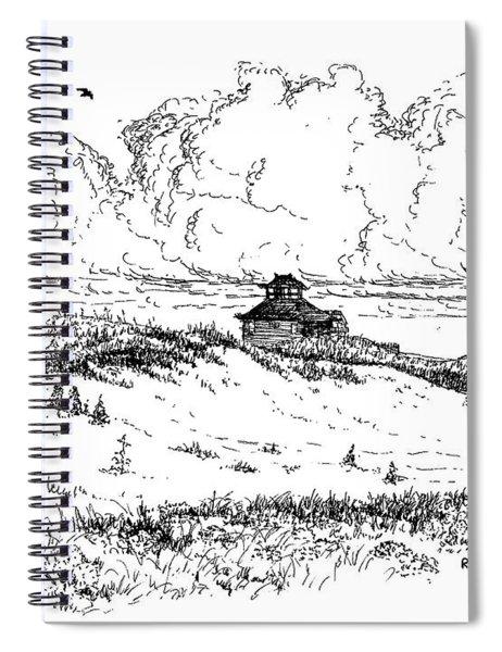 Summer Thunderheads Spiral Notebook