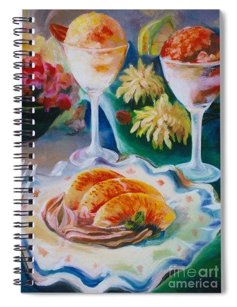 Summer Treats Spiral Notebook