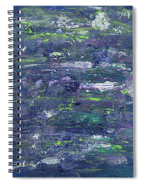 Summer Water Garden Spiral Notebook