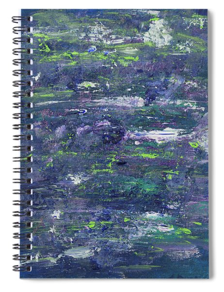 Summer Water Garden Spiral Notebook