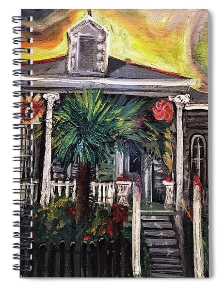 Summertime New Orleans Spiral Notebook