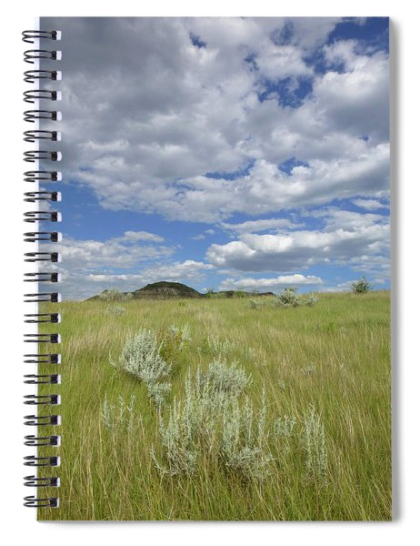 Summertime On The Prairie Spiral Notebook