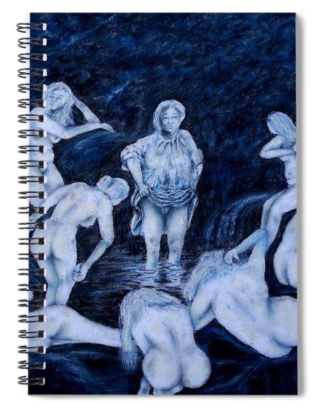 Sun Bath Spiral Notebook