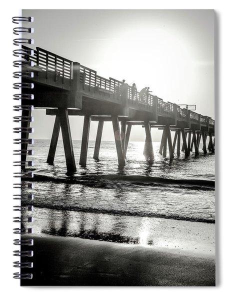 Sun Bathe Spiral Notebook