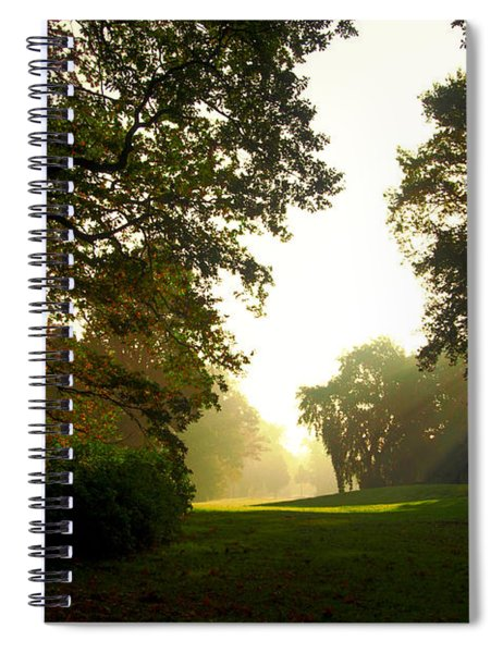 Sun Beams In The Distance Spiral Notebook