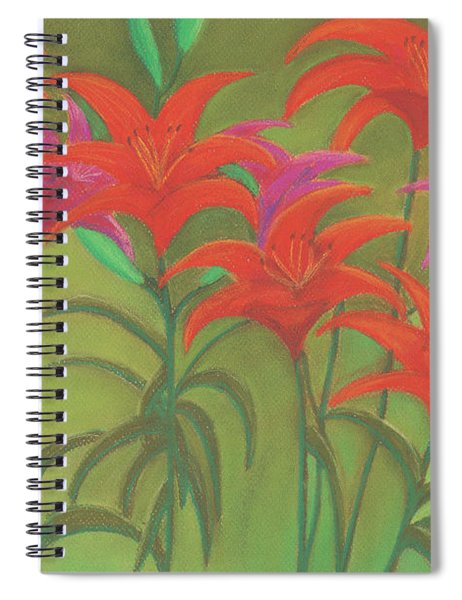 Sun Dance Spiral Notebook