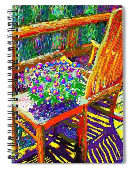 Sun Dance On Deck Spiral Notebook