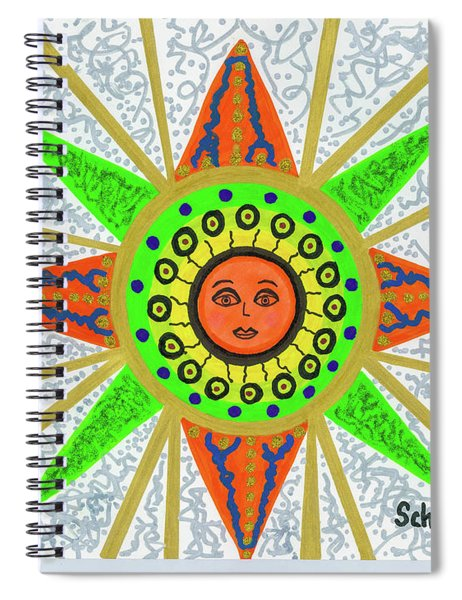 Sun Goddess Spiral Notebook