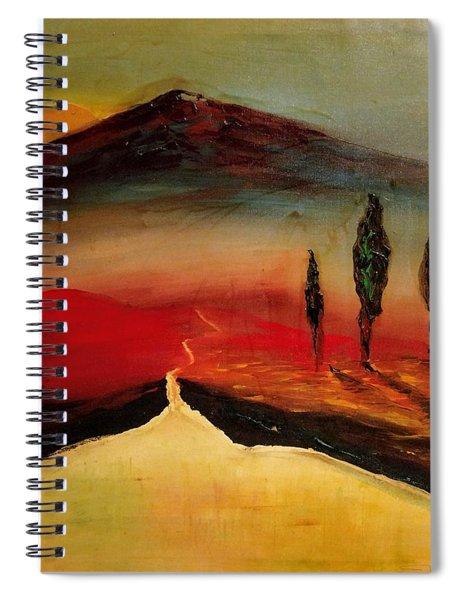 Sun Going Down Spiral Notebook