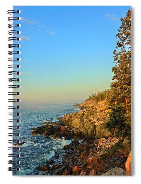 Sun-kissed Coast Spiral Notebook