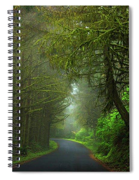 Sun-kissed Spiral Notebook