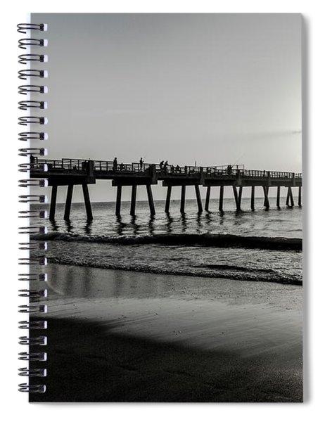 Sun Led Spiral Notebook