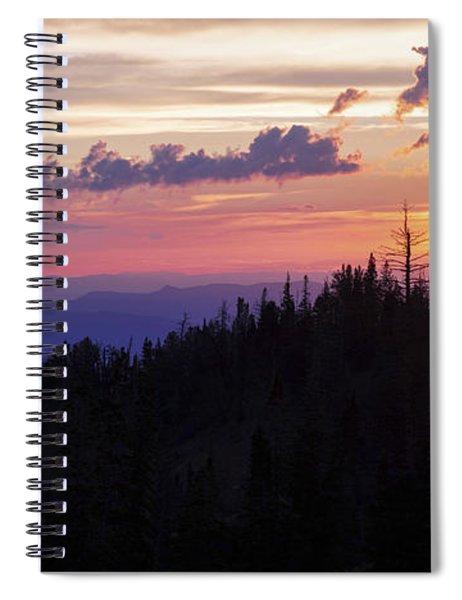 Sun Over Cedar Spiral Notebook