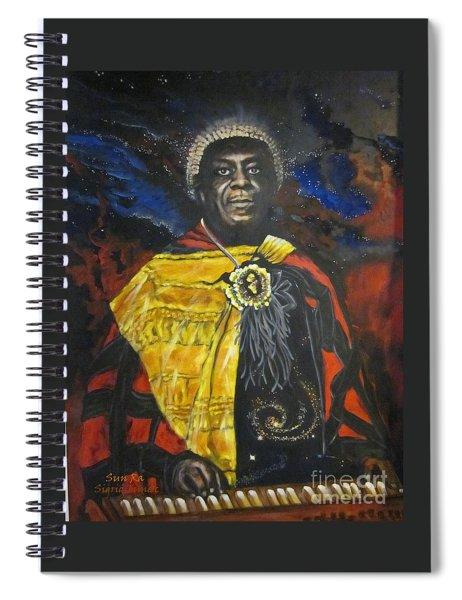 Blaa Kattproduksjoner           Sun-ra - Jazz Artist Spiral Notebook
