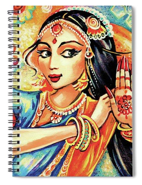 Sun Ray Dance Spiral Notebook