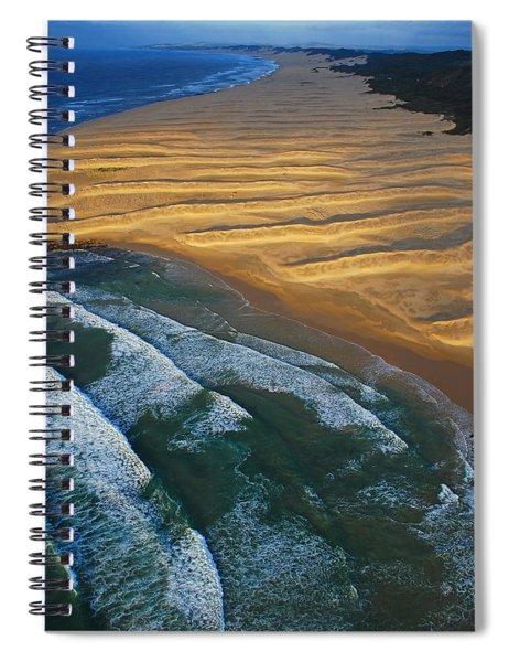 Sun Rise Coast  Spiral Notebook