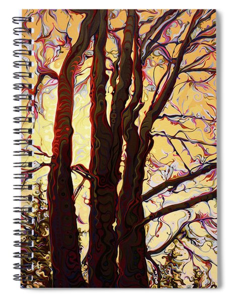 Sun-shielding Gallantrees Spiral Notebook