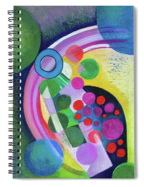Sun Spots Spiral Notebook