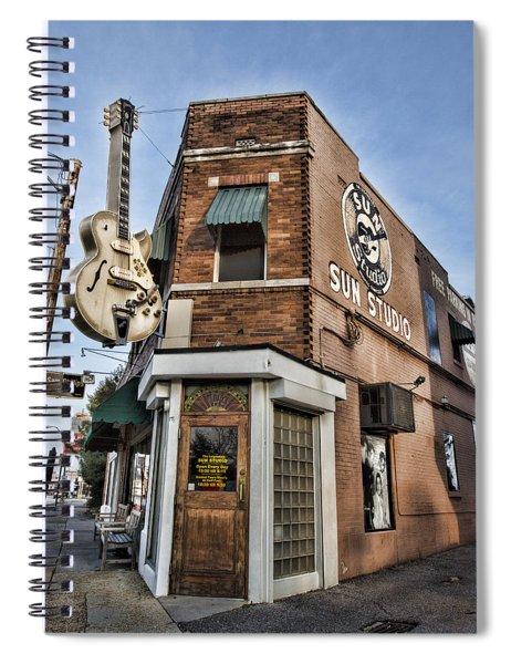 Sun Studio - Memphis #1 Spiral Notebook