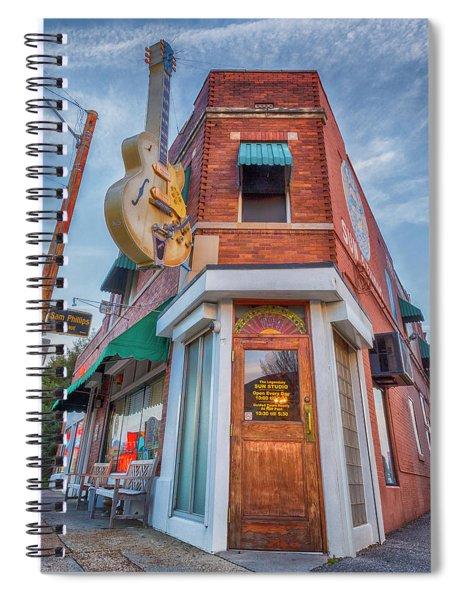 Sun Studio  Spiral Notebook
