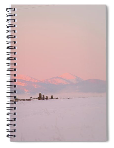Sun Up On 12th Spiral Notebook