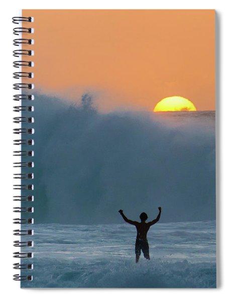 Sun Worship Spiral Notebook