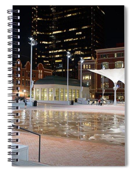 Sundance Square Fort Worth 3 Spiral Notebook