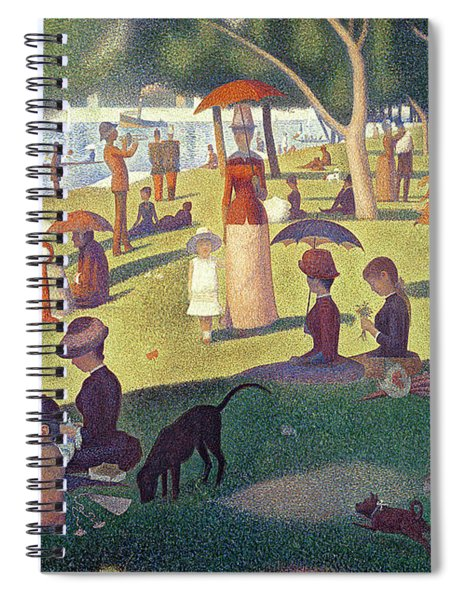 Sunday Afternoon On The Island Of La Grande Jatte Spiral Notebook