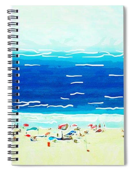 Sunday At Bondi Spiral Notebook