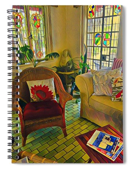 Sunday Chill  Spiral Notebook