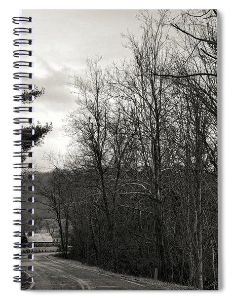 Sunday Drive Spiral Notebook