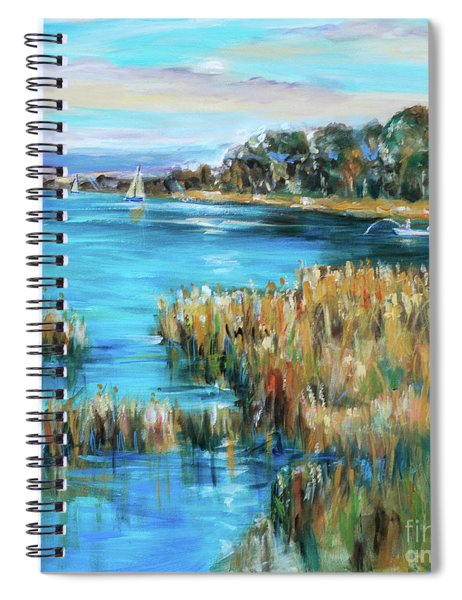 Sunday On The River Spiral Notebook