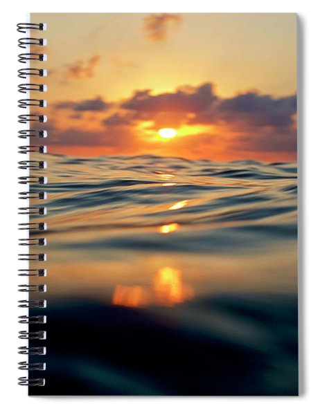 Sundown Spiral Notebook