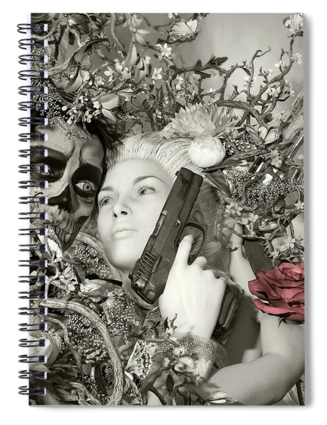 Sundowner Spiral Notebook