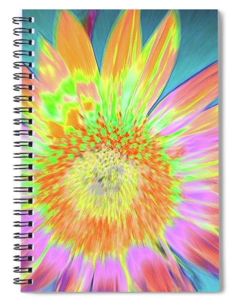 Sunfeathered Spiral Notebook