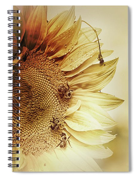 Sunflower Days Spiral Notebook